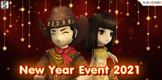 New year event 2021